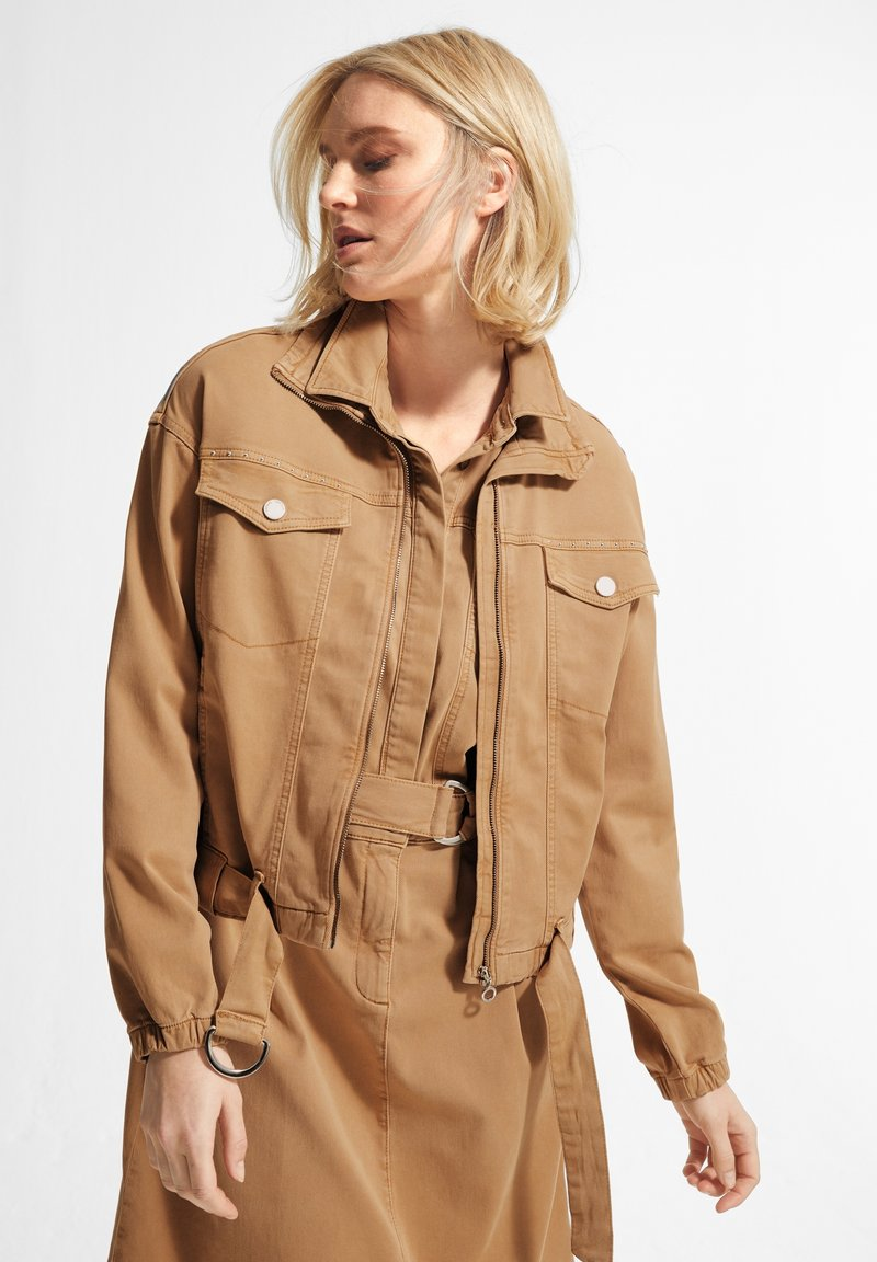 comma casual identity - Light jacket - brown