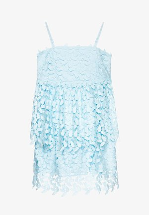 DARCY LEAF DRESS - Cocktailjurk - crystal blue
