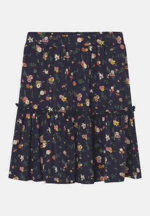 THELMA  - A-line skirt - dark blue