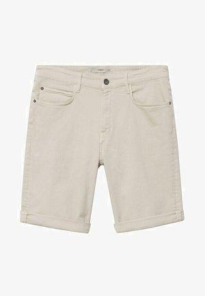 Short en jean - open beige