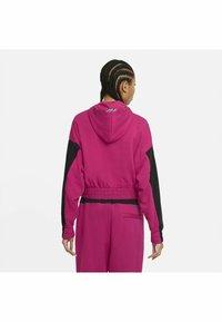 Nike Sportswear - HOODIE - Felpa - fireberry/black/(white) - 2