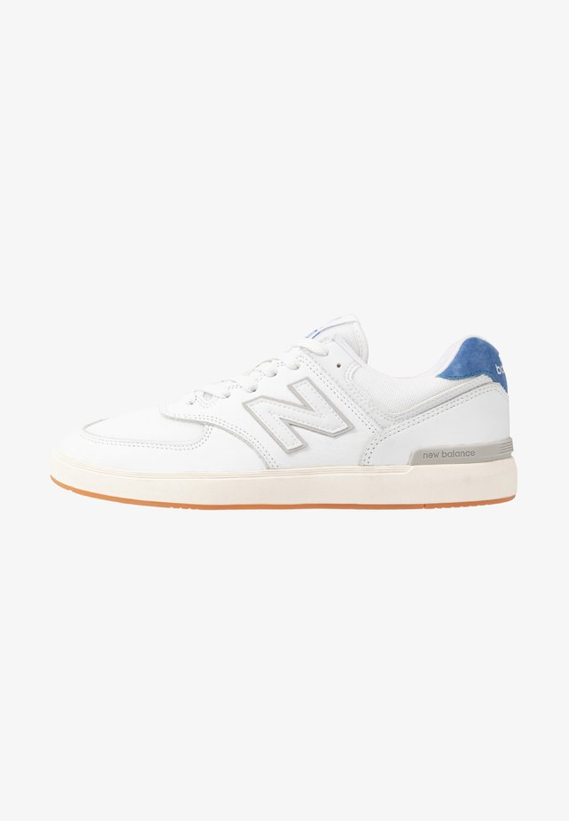 ALL COAST - Sneakers laag - white/royal