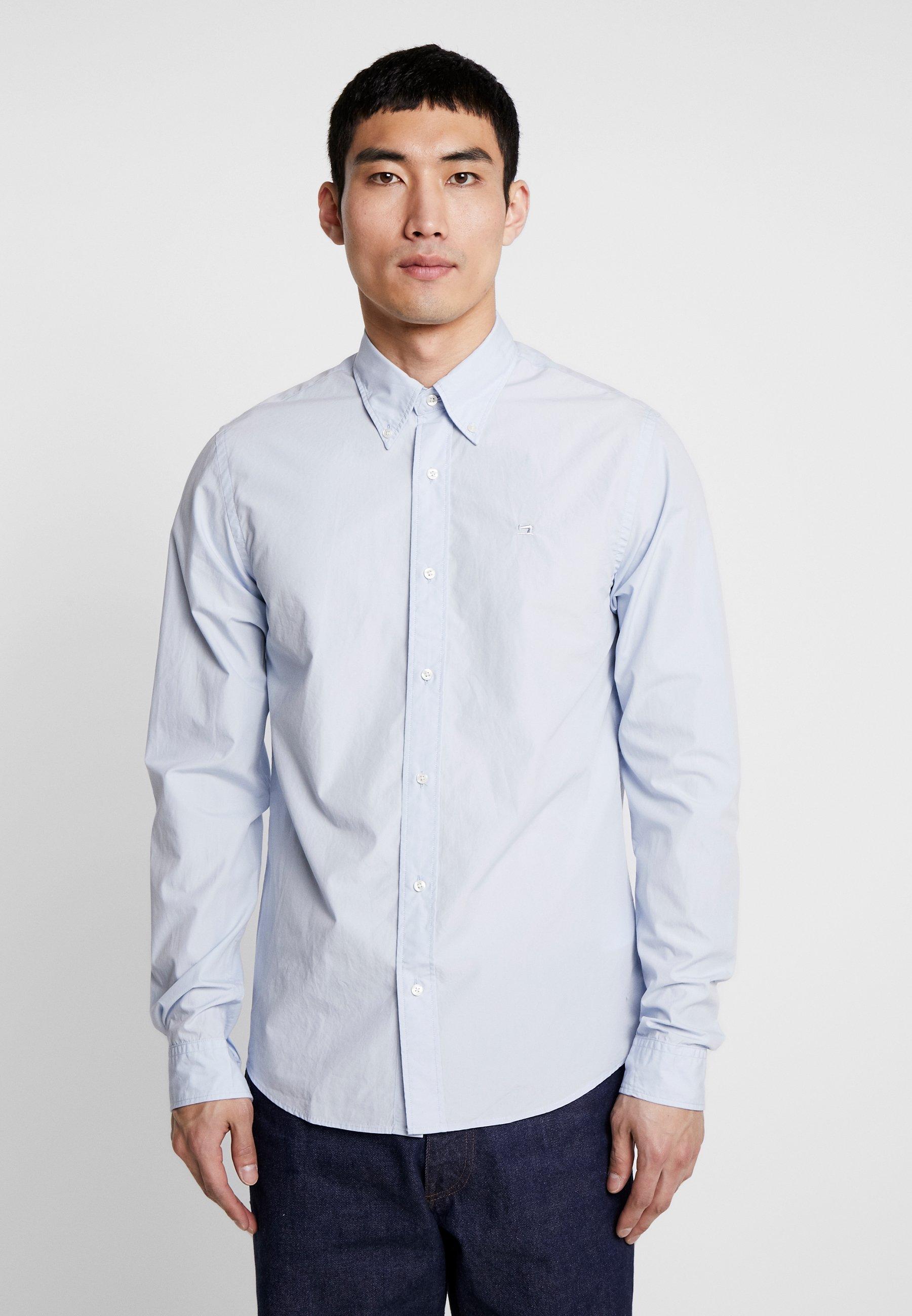 Men CRISPY REGULAR FIT BUTTON DOWN COLLAR - Shirt