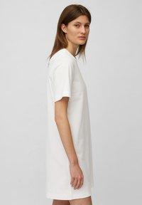 Marc O'Polo - Day dress - white linen - 3