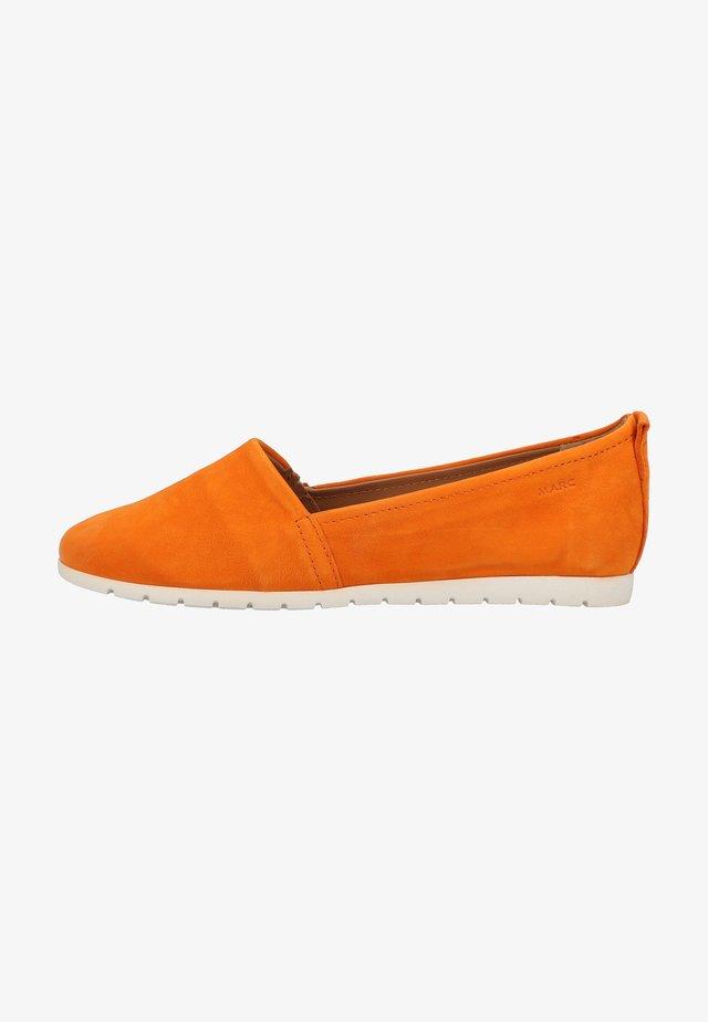 Loafers - orange