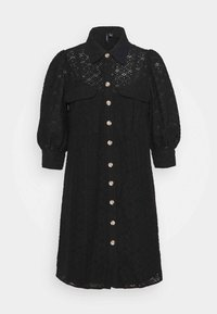 VMHENNY DRESS - Shirt dress - black