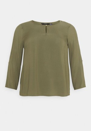 VMNADS 3/4 FOLD-UP TOP - Bluser - ivy green