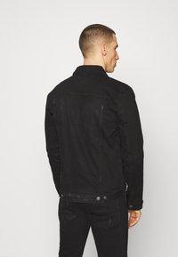 Denim Project - KASH JACKET - Giacca di jeans - black dot - 2