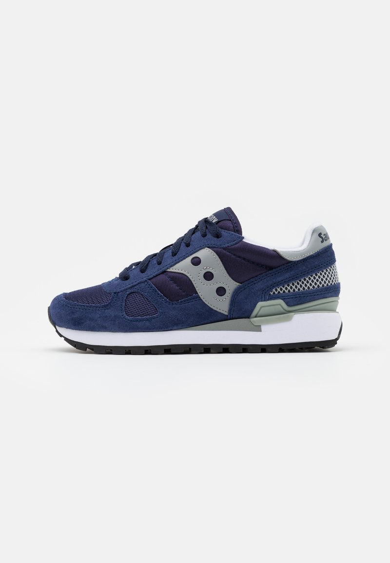 Saucony - SHADOW ORIGINAL UNISEX - Trainers - navy/grey