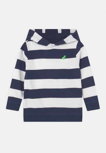 STRIPE HOODIE - Sweater - navy