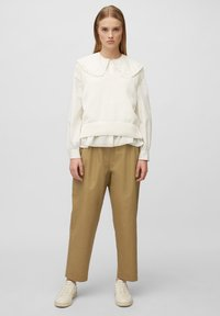 Marc O'Polo DENIM - Trousers - suntanned - 1