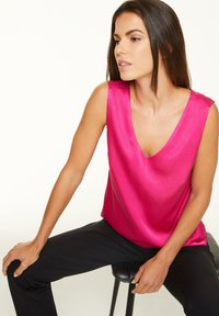 comma - Blouse - deep pink - 0