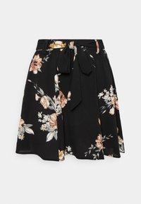 ONLY - ONLNOVA LUX JASMIN SKIRT - Áčková sukně - black - 0