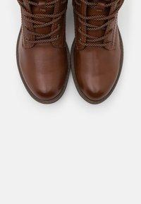 Tamaris - Kotníková obuv - cognac - 5