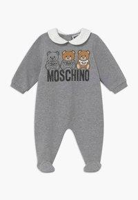MOSCHINO - BABYGROW GIFT BOX - Pyjamas - grey melange - 0