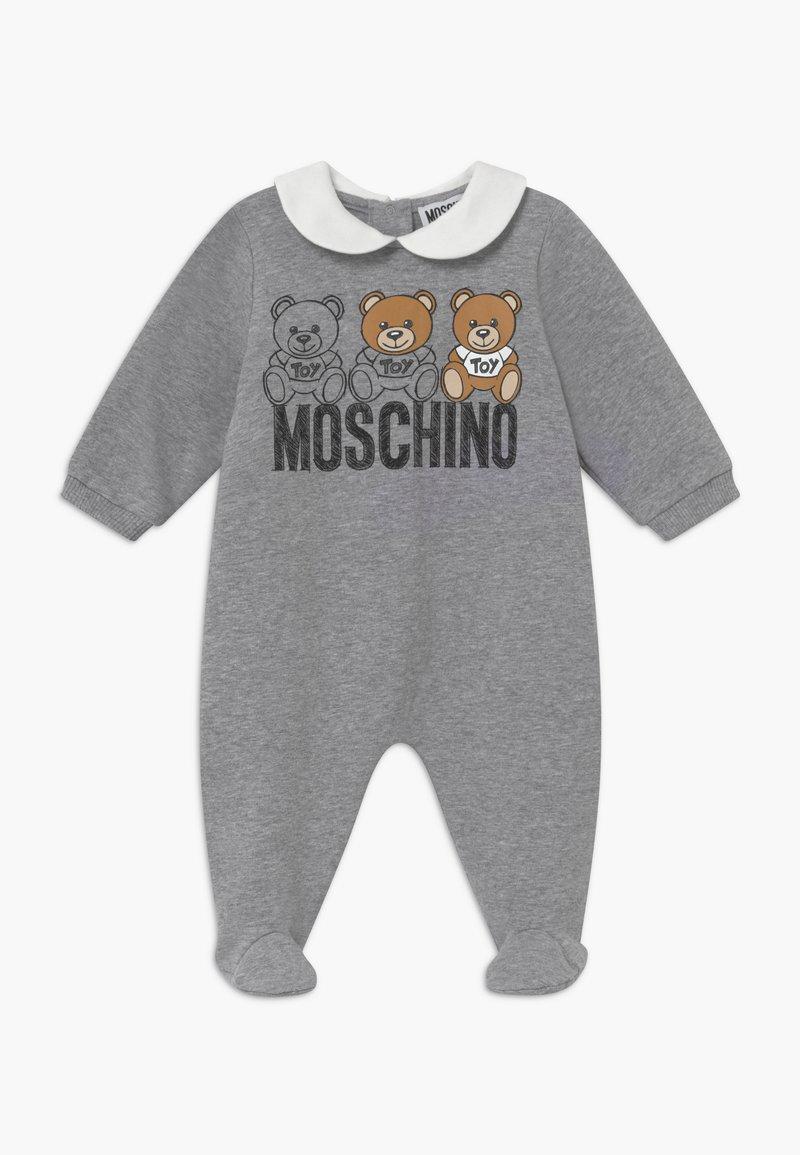 MOSCHINO - BABYGROW GIFT BOX - Pyjamas - grey melange