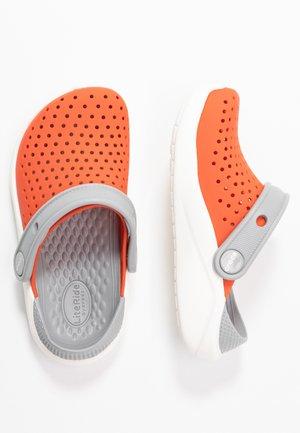LITERIDE  - Pool slides - tangerine/white