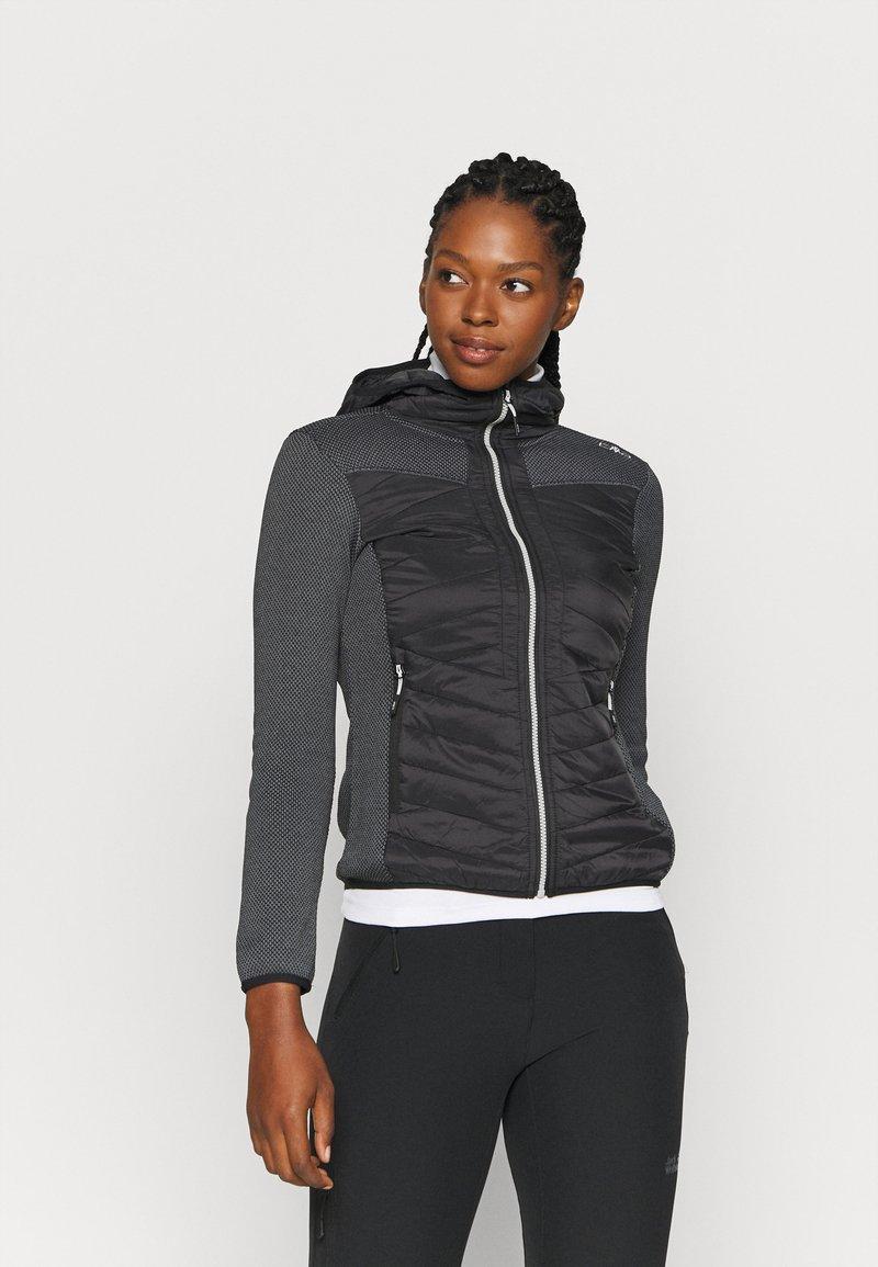 CMP - WOMAN JACKET FIX HOOD - Outdoor jacket - nero