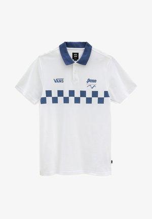 MN VANS X PENN POLO - Polo shirt - (penn) white