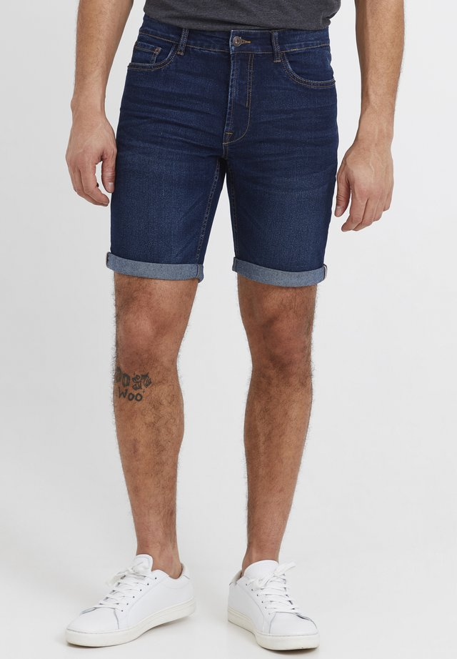 MOYAT - Shorts di jeans - dark blue denim