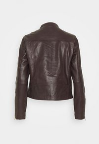 Esprit Collection - Kožená bunda - bordeaux red - 2