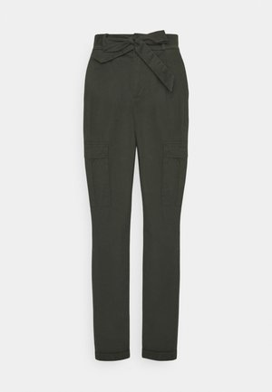 VMEVA PAPERBAG CARGO PANT - Trousers - peat