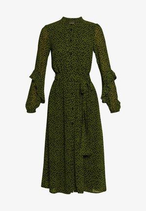 DRESS - Vestido informal - black/evergreen