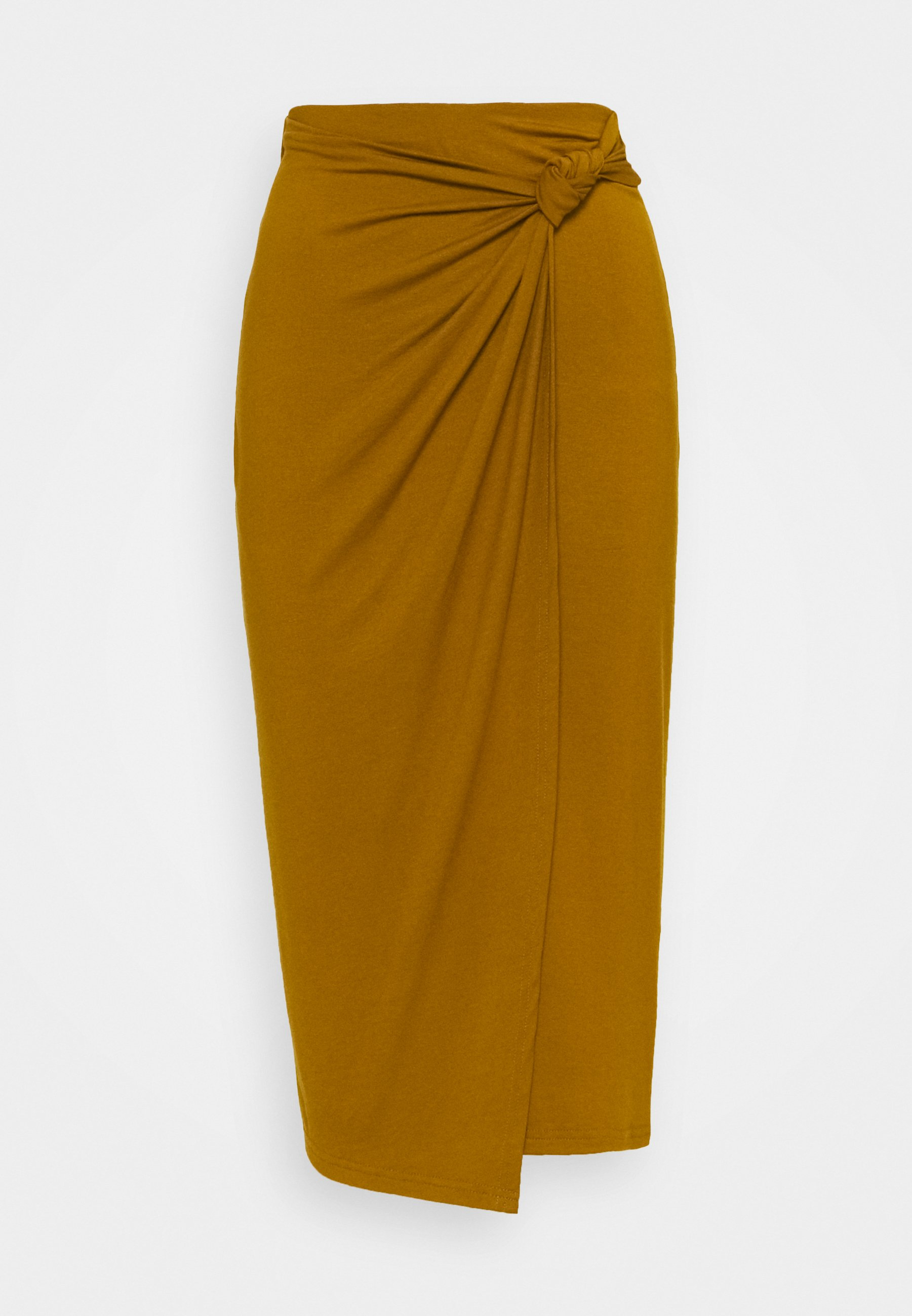 Femme CLASSIC Front knot midi skirt - Jupe crayon