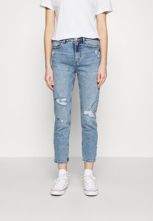 ONLEMILY LIFE - Džíny Straight Fit - light blue denim