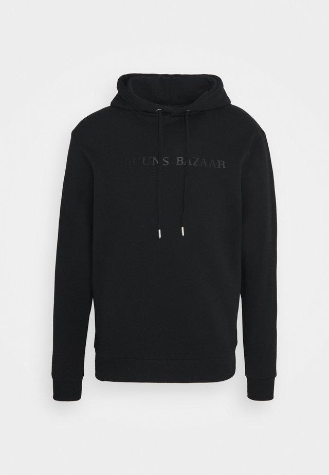 BERTIL HOODIE - Sweater - black