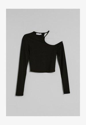 ASYMMETRISCHES  - Pitkähihainen paita - black