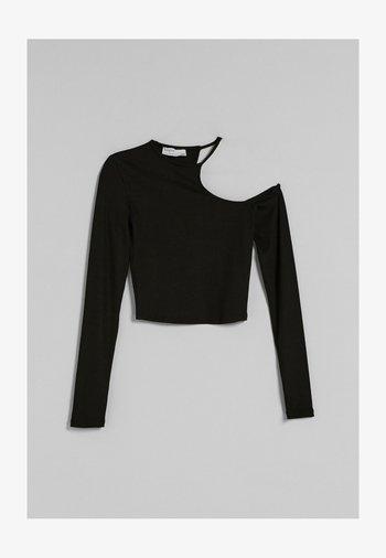ASYMMETRISCHES  - Long sleeved top - black