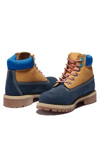 Timberland - Lace-up ankle boots - navy nubuck - 2