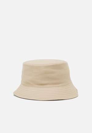 PCMAVIS REVERSIBLE BUCKET HAT - Klobouk - warm sand/black
