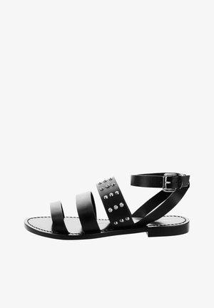 SCHIA - Sandalias - black