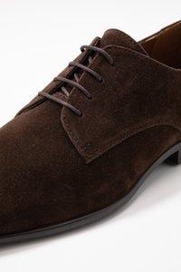Pier One - Smart lace-ups - dark brown - 5