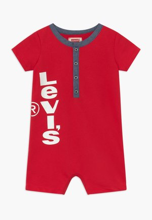 HENLEY ROMPER - Overal - lychee