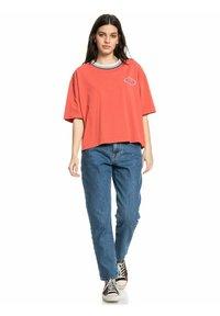 Quiksilver - Straight leg jeans - medium blue - 1