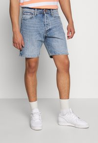 Jack & Jones - JJICHRIS JJORG  - Denim shorts - blue denim - 0