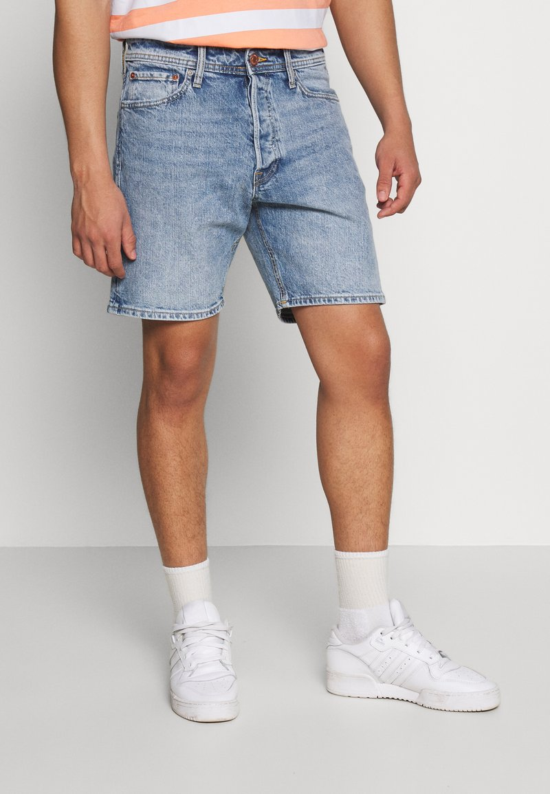 Jack & Jones - JJICHRIS JJORG  - Denim shorts - blue denim