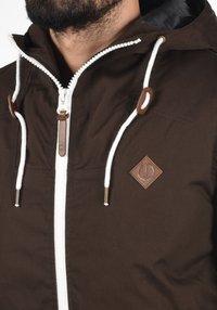 Solid - TILLY - Light jacket - dark brown - 3