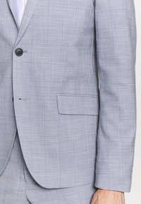 Lindbergh - CHECKED SUIT - Completo - lt grey check - 6