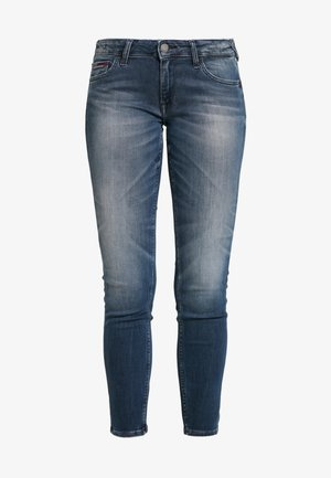 SOPHIE LOW RISE - Jeans Skinny Fit - stone blue denim