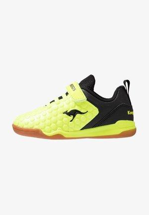 SPEED COURT - Tenisky - neon yellow/jet black