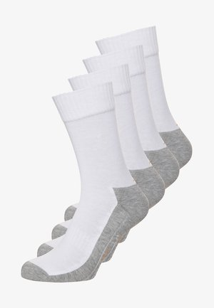 4 PACK - Sportsocken - white