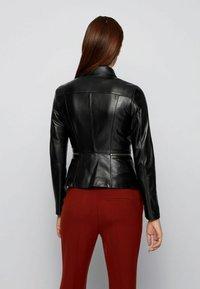 BOSS - Leather jacket - black - 2