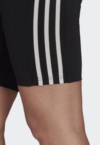 adidas Performance - DESIGNED TO MOVE HIGH-RISE SHORT SPORT TIGHTS - Medias - black/white - 4
