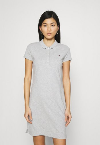 SLIM DRESS - Day dress - light grey heather