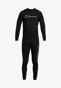 CLOSURE London - SCRIPT CREWNECK TRACKSUIT - Trainingsanzug - black - 7