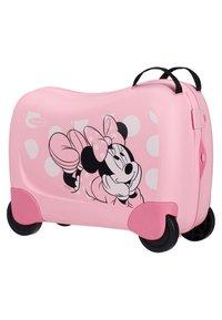 Samsonite - ZUM DRAUFSITZEN - Wheeled suitcase - pink - 2
